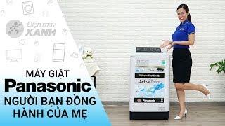 Máy giặt Panasonic 8,5 kg NA-F85A4HRV - Người bạn đồng hành của mẹ