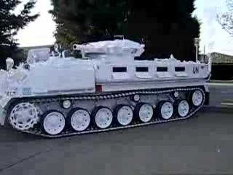 Thumbnail: Tank Limo - The worlds only stretched tracked vehicle