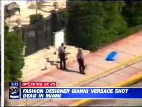 Image result for gianni versace death
