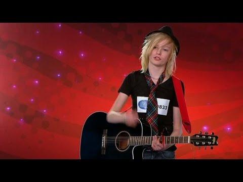 Johan Palms första audition i Idol Sverige - Idol Sverige (TV4)