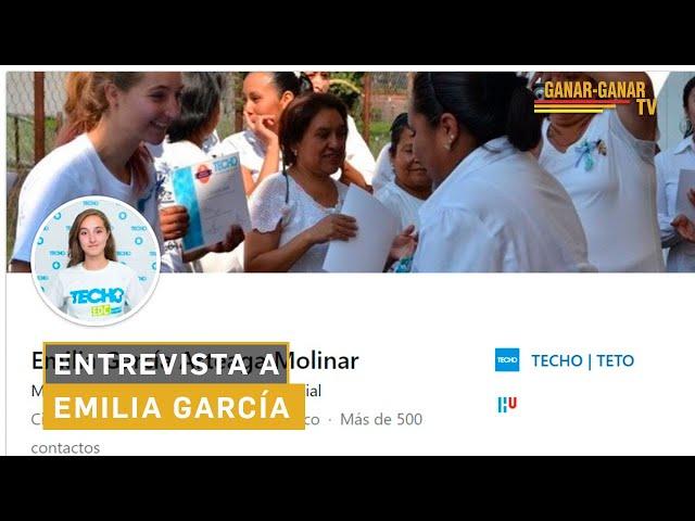 Entrevista a Emilia García - Directora de TECHO