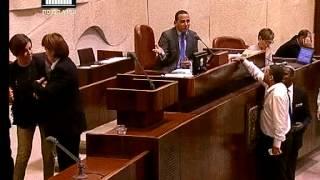 ערוץ הכנסת - זהבה גלאון מכנה את ח