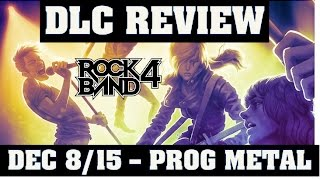 Rock Band 4 DLC Review Episode 10  Opeth, Symphony X And Between the Buried and Me
