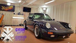 JD detailing - Porsche Carrera 3.2 - polish and ceramic coating