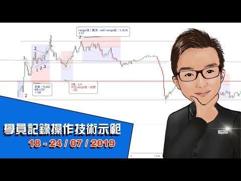 0519屆學員記錄操作技術示範 18 - 24July 2019