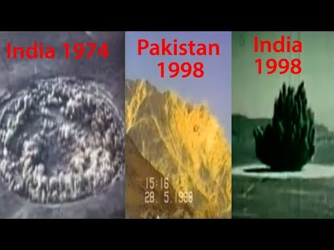India's Nuclear Test VS Pakistan's Nuclear Test