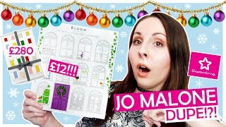 Superdrug Bloom Perfume Advent Calendar Unboxing (£12 Jo Malone DUPE?!)| Behind The Scent