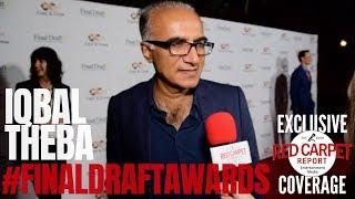 Iqbal Theba interviewed at the 14th Annual Final Draft Awards #WeAskMore #FinalDraftAwards