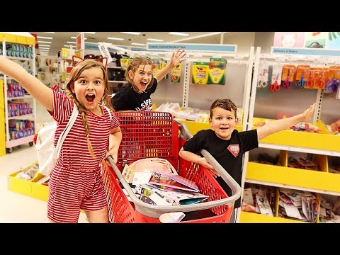 Back to School Shopping at Target 2019! Huge Back to School Shopping Haul | JKrew
