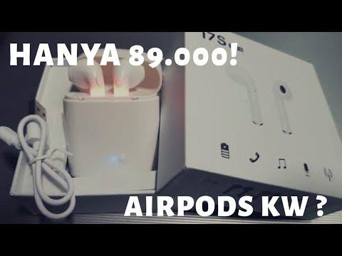 Cara Menggunakan Airpods KW? (Headset Bluetooth i7s Tws) Murah Hanya 89.000 Unboxing dan Review