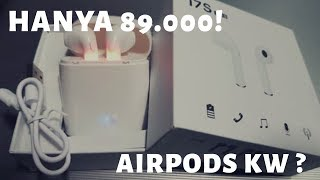 Cara Menggunakan Airpods Kw Headset Bluetooth I7s Tws Murah Hanya 89 000 Unboxing Dan Review Youtube