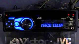 """JVC Функция """"Color Variation"""""""