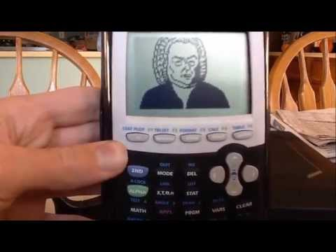 J.S. Bach on TI-84 Graphing Calculator