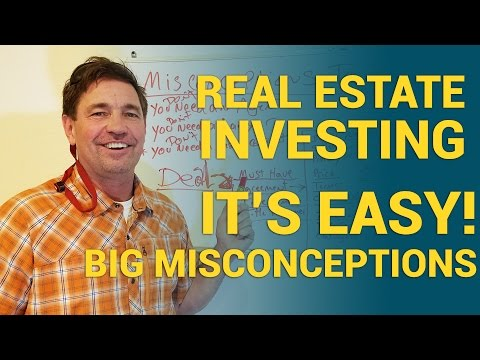 Beginner Real Estate Investing - IT'S EASY! Big Misconceptions on contracts & buying