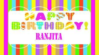 Ranjita   Wishes & Mensajes - Happy Birthday