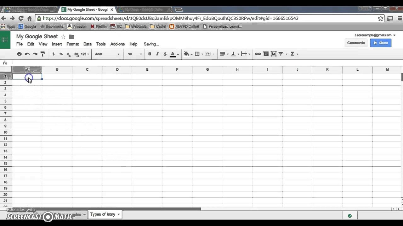 Create A Google Sheet Make Multiple Tabs Use The Search Function - Create google sheet