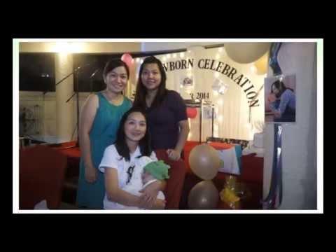 Jun He newborn celebration 2014