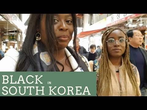 Black in SOUTH KOREA. Travel VLOG