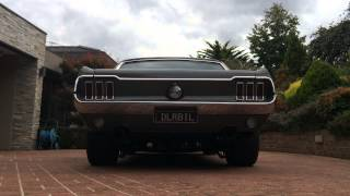 Ford Mustang 1967 331 stroker exhaust Sound
