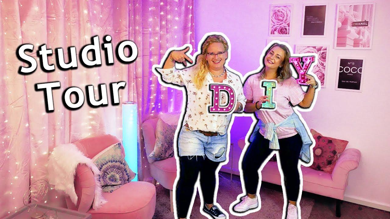 Download Neue DIY Studio Tour mit Q&A   Das DIY Studio ist ENDLICH fertig!