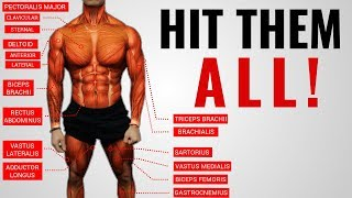 "The Best Science-Based Full Body Workout for Growth (WORKOUT ""A"")"