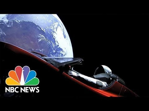 SpaceX Launches Car Into Orbit: Starman In The Sky | NBC News
