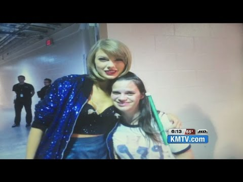 Deserving Taylor Swift super fan gets to meet Taylor in Omaha after KMTV story