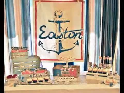 Easy DIY Nautical Baby Shower Decorating Ideas YouTube