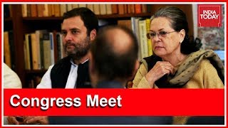Sonia Gandhi Calls For Strategic Alliance To Save Democracy At CWC Meet