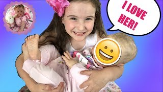 *UNBELIEVABLE* REBORN BOX OPENING SURPRISE - SUPER REALISTIC BABY GIRL REBORN DOLL