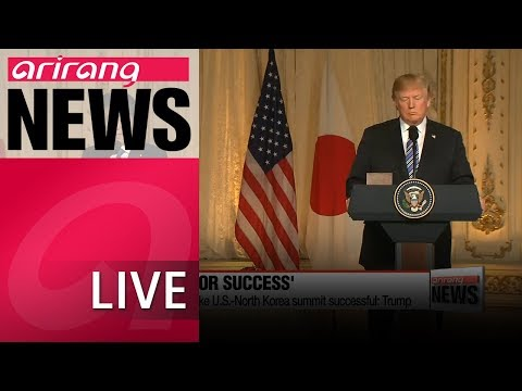 [LIVE/ARIRANG NEWS] N. Korea's denuclearization would be
