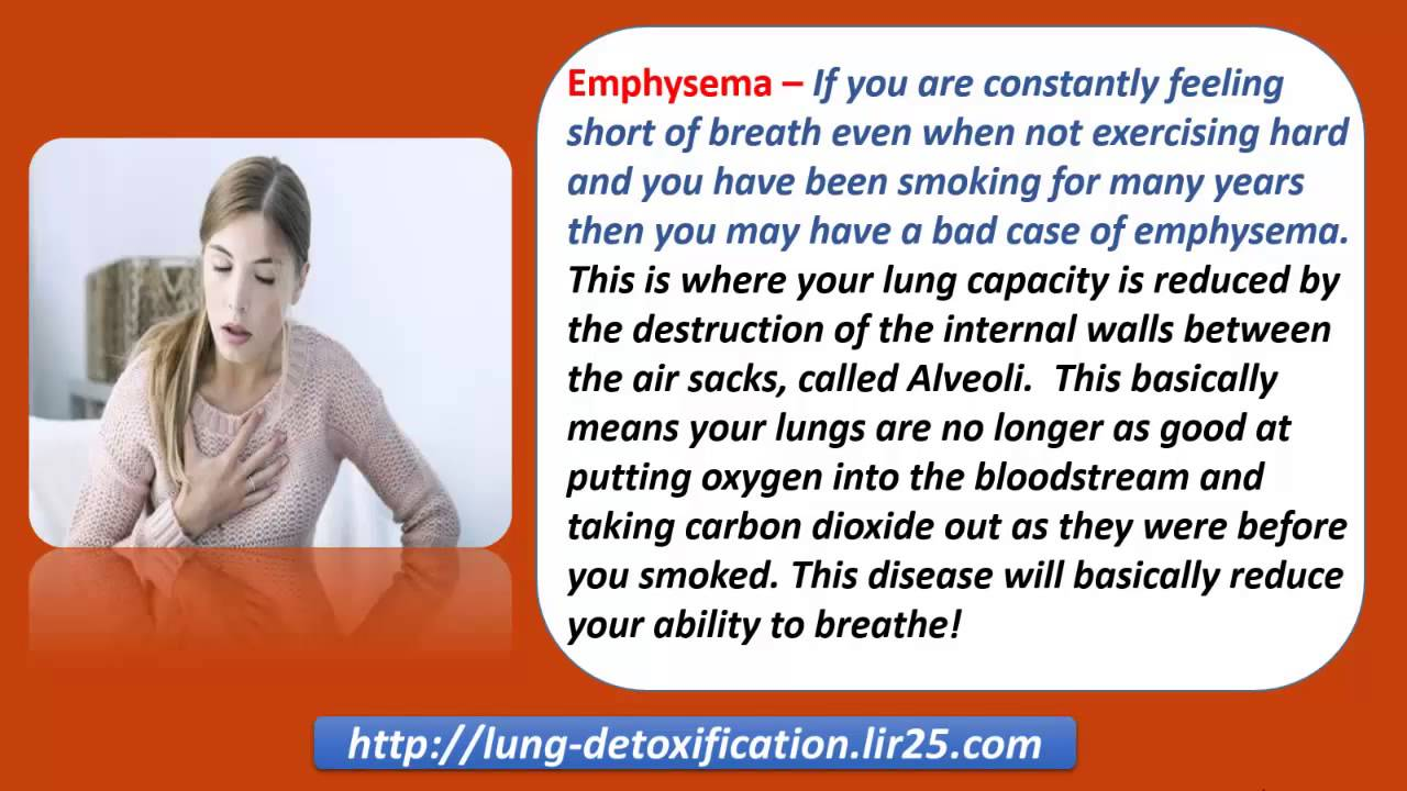 how to make your lungs stop burning after smoking