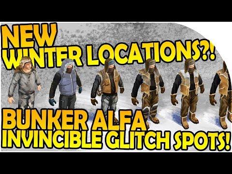 NEW LOCATION / WINTER - BUNKER ALFA INVINCIBLE GLITCH SPOTS- Last Day On Earth Survival 1.5.7 Update