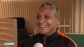 Het WK-kapsel van Shanice van der Sanden is 'bijzonder'