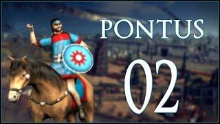 WAR WITH GREECE - Pontus - Rome: Total War - Ep.02!