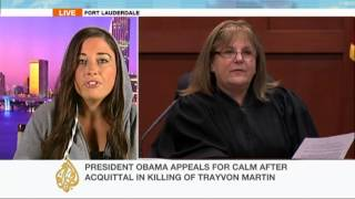 Trayvon Martin family's lawyer talks to Al Jazeera 7/16/13