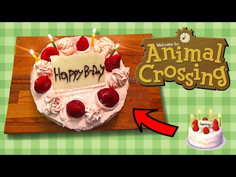 Cucco's Kitchen | How To Make The Animal Crossing's Birthday Cake