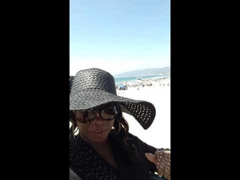 Feeling Blessed on Santa Monica Pier