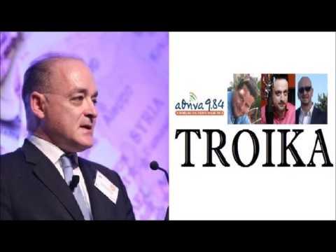 Vassilis Karayannis 03/10/2016, Radio interview Troika Athens 984 FM, Deutsche Bank