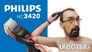 Philips HC3420 hajvágó UNBOXING és teszt