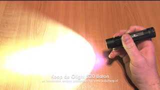 Olight S20 Baton led zaklamp review - ledscherp.nl