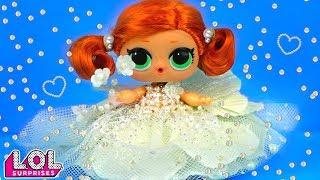 Мария В ШОКЕ! Скейти выбирает свадебное платье! Мультик про куклы лол сюрприз LOL dolls