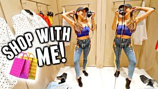 COME SHOPPING WITH ME!!🍂🍁🛍️ Buying fall clothes for 2018