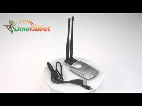 USB 802.11G 54M Wireless LAN Adapter High Power 500MW BL-LW02-H4  from Dinodirect.com