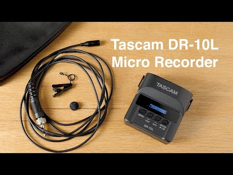 Tascam DR-10L Micro Recorder and Lavalier Review