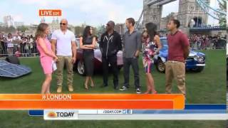 Fast & Furious 6 Today Show Interview