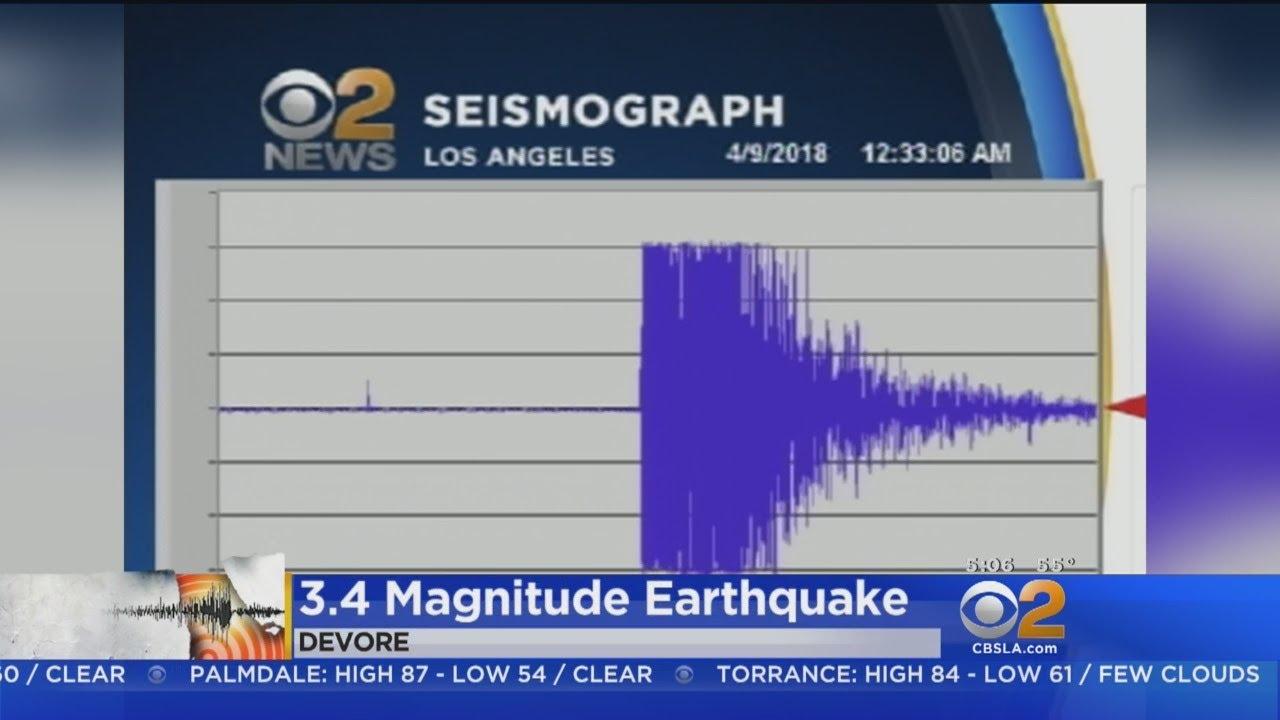Earthquake Rattles San Bernardino County