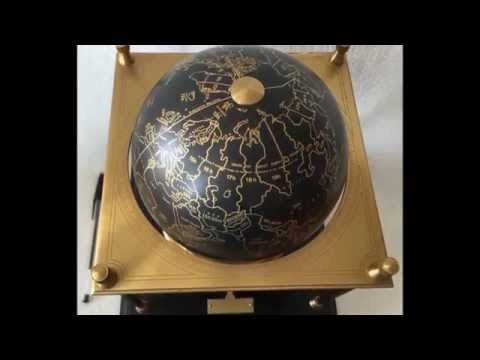 Imhof Swiss Limited Royal Geographical Society Terrestrial World Globe Clock