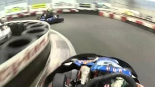 Cours de trajectoires Kart St Seb avec Benoit