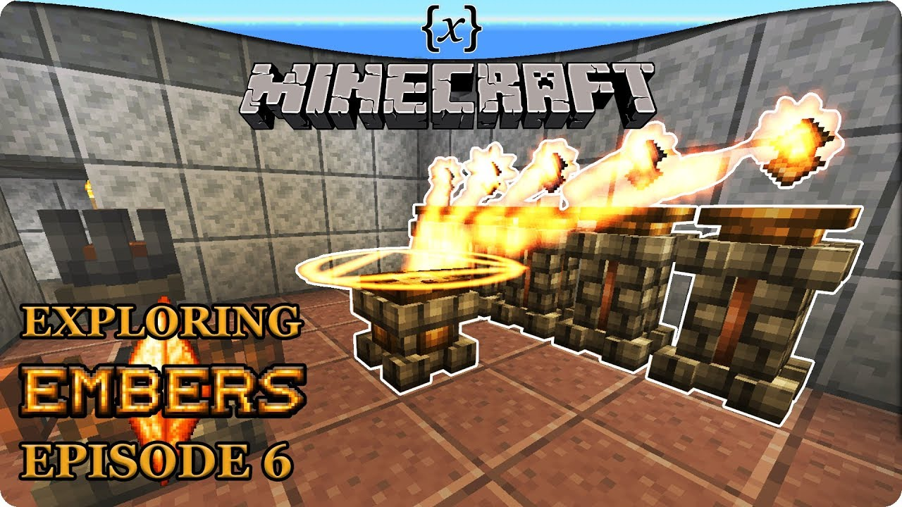 ALCHEMY, EXCHANGE TABLETS AND CRYSTAL CRAFTING | Minecraft - Exploring  Embers Part 6 by VariablePwn